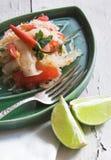 papaja sałatka tajska Zdjęcie Stock