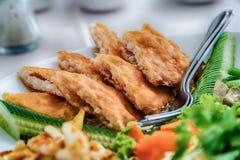 Papajasalade, Thais voedsel in de noordoostelijke provincies van Thailan stock foto's