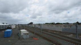Papakura-Bahnhof Stockfotos