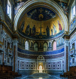 Papal Archbasilica of St. John in Rome, Italy. ROME, ITALY - JANUARY 23 2015: Papal Archbasilica of St. John in Lateran or just The Lateran Basilica, is Stock Photos