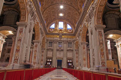 Papal basilica Stock Images