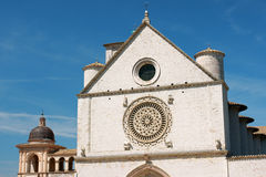 Papal Basilica of Saint Francis of Assisi Royalty Free Stock Photos