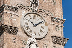 The Papal Basilica of Saint Mary Major in Rome, Italy. The Papal Basilica of Saint Mary Major (Basilica Papale di Santa Maria Maggiore), the largest Roman stock photo