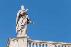 The Papal Basilica of Saint Mary Major in Rome, Italy. Royalty Free Stock Photo