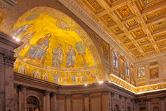 Papal Basilica of Saint Paul Royalty Free Stock Photography