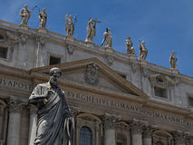 The Papal Basilica of Saint Peter Stock Photo