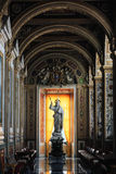 Papal Basilica of Saint Peter in the Vatican Interior. VATICAN CITY, VATICAN - Nov 20, 2015: Papal Basilica of Saint Peter in the Vatican Interior. The statue of royalty free stock images