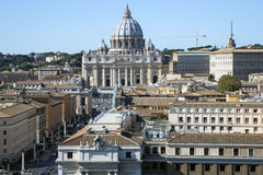 Papal Basilica of Saint Peter in the Vatican. Royalty Free Stock Photography