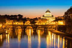 The Papal Basilica of Saint Peter in the Vatican. The Papal Basilica of Saint Peter in the Vatican (Basilica Papale di San Pietro in Vaticano stock photos