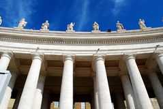 The Papal Basilica of Saint Peter in the Vatican Royalty Free Stock Photo
