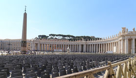 Papal basilica of saint peter in vatican. Papal basilica of saint peter is taken in vatican royalty free stock photo