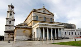 The Papal Basilica of St Paul Outside the Walls Stock Photography