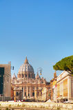 The Papal Basilica of St. Peter. In the Vatican city stock photo