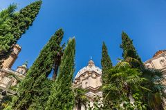 The Papal Basilica of St. Peter in the Vatican. Is an Italian Renaissance church in Vatican City royalty free stock photo