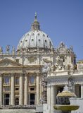 The Papal Basilica of St. Peter in the Vatican royalty free stock photo