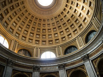 The Papal Basilica of St. Peter in the Vatican or simply St. Peter`s Basilica is an Italian Renaissance church in Vatican City. Designed principally by Donato Stock Images