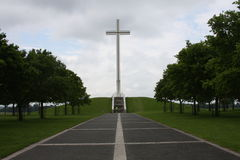 Papal Cross. Is a historical site in Dublin Ireland, signifying Pope's visit stock image