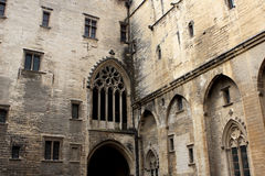 The Papal palace, Avignon Stock Photography
