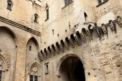 The Papal palace, Avignon Royalty Free Stock Photos