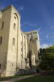 Papal Palace in Avignon, France royalty free stock photography