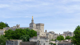 Papal Palace, Avignon Stock Photo