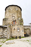 Papal tower. Kamyanets-Podilsky, Ukraine - May 26, 2014: Papal tower, which was concluded Ustim Karmelyuk royalty free stock photo