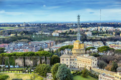 Papal TV Station Vatican City Rome Italy Stock Images