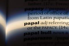 papale fotografia stock