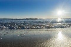 Papamoa Beach outlook Stock Image