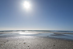 Papamoa strand Royaltyfri Fotografi
