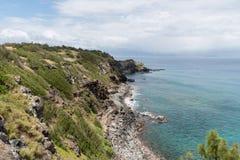 Papanalahoa Point on Maui, Hawaii Stock Images