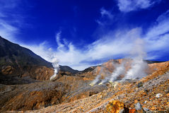 Papandayan Crater Stock Photos