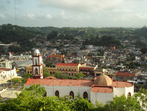 Papantla, Mexico. A view of charming Papantla in Veracruz state, Mexico Royalty Free Stock Photography