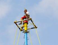 Papantla vliegende mensen VI Stock Foto