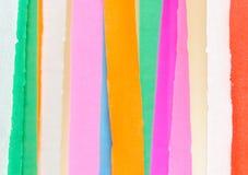 Papar γραμμή χρώματος Στοκ Φωτογραφία