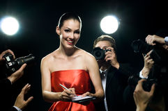 Paparazzi royalty free stock photos