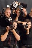 Paparazzi Immagini Stock