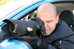 Paparazzi Royalty Free Stock Image