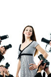 Paparazzi Foto de Stock Royalty Free