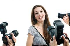 Paparazzi Stock Photography