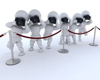Paparazzi at the red carpet Royalty Free Stock Photo