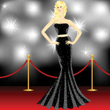 Paparazzi on the red carpet Royalty Free Stock Images