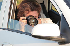 Paparazzi Royalty Free Stock Photos
