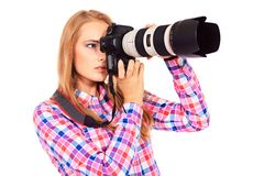 Paparazzo Stock Images