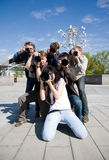 Paparazzo Royalty Free Stock Photos