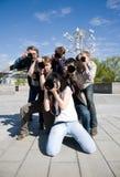 Paparazzo Lizenzfreie Stockfotos