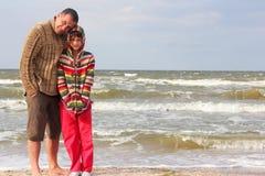 Papas et filles de jour Images libres de droits