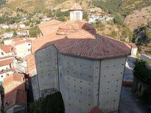 Papasidero - kościół San Costantino Fotografia Royalty Free
