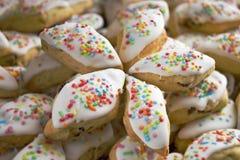 Papassini - biscuits pour les vacances image stock
