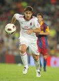 Papastathopoulos Spieler von AC Mailand Lizenzfreie Stockbilder